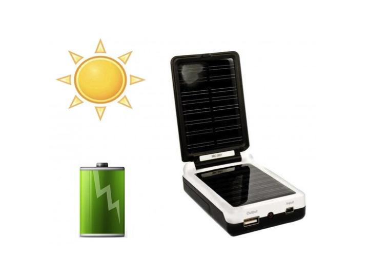 Un chargeur solaire… pour piles