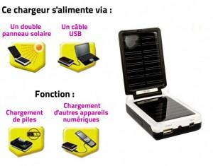 chargeur solaire piles aa et aaa les nouvelles de l. Black Bedroom Furniture Sets. Home Design Ideas