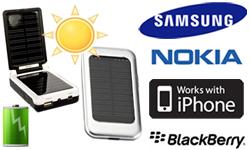 Nouveautés : chargeurs solaires pour téléphones portables