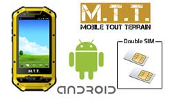 MTT Smart Multimédia : le 1er mobile dual SIM Android étanche et anti-chocs