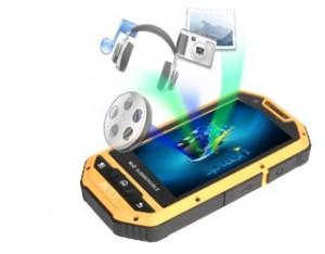 Smartphone 2 SIM android étanche - MTT Smart Multimedia