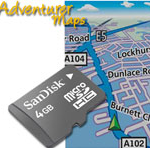 Tracker GPS Randonnée IGN - Memory Map