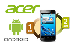 Un mobile intelligent et double sim pour la rentrée : l'Acer Liquid Gallant