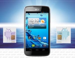 Smartphone Android double SIM Acer Liquid Gallant - Noir