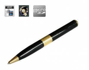 stylo camera espion
