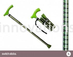 canne pliante pepa verde