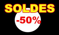 Profitez-vite des soldes jusqu'à -50% !