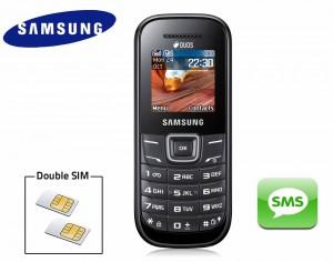 Téléphone mobile double SIM Samsung E1202