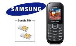 Nouveau Samsung E1202 : découvrez le mobile double carte SIM pas cher avant tout le monde sur 1001innovations.com !