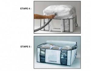 compactor rangement sous vide