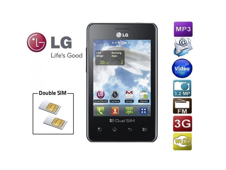 Dual SIM android LG 405