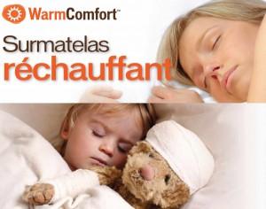 Sur-matelas réchauffant WarmComfort
