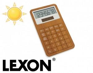 calculatrice solaire lexon