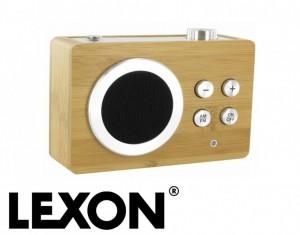 radio sans fil en bambou