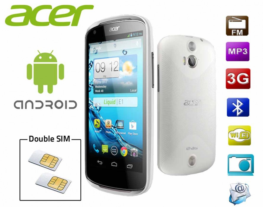 Technologie 'Float Caller' sur le Acer Liquid E1