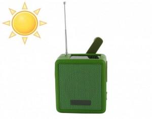 radio compacte energie solaire
