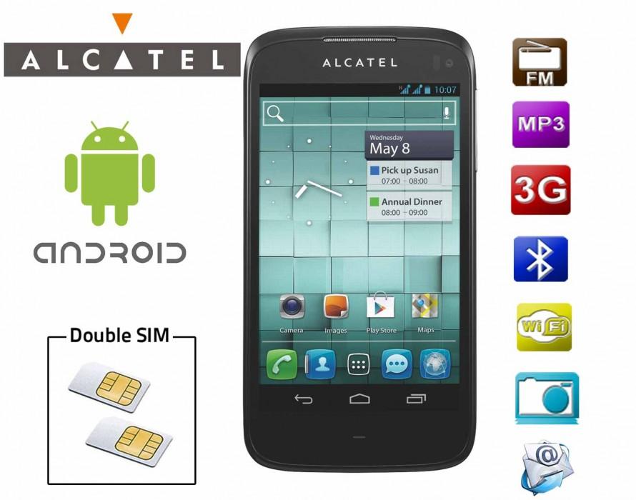 Le nouvel Alcatel double SIM résiste aux éclaboussures et égratignures !