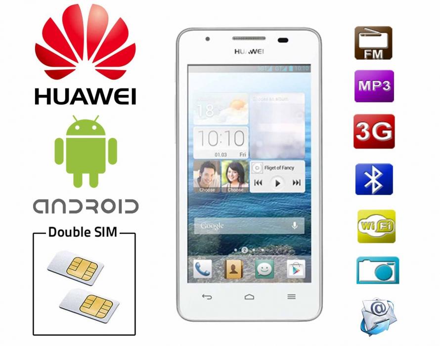 Huawei : nouvelle marque de double sim !