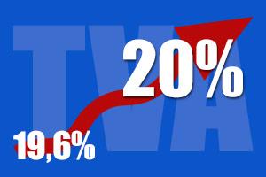 Pas d'augmentation malgré la hausse de TVA !