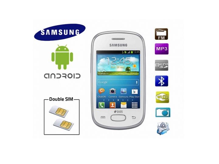Double sim Samsung S5282