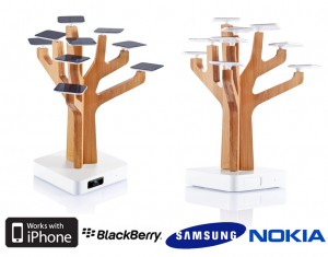 chargeur solaire arbre