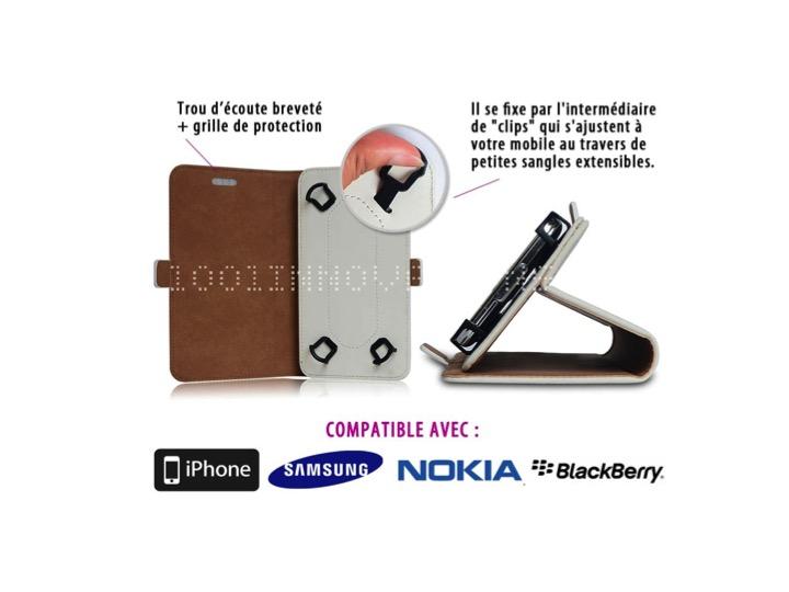 Coque de téléphone anti-ondes Silver Shield