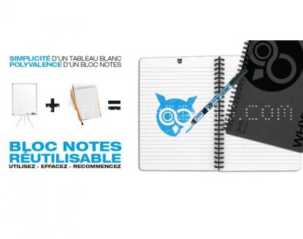 Why Note, le bloc note qui s'efface !
