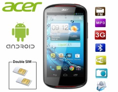 Smartphone Android double sim ACER Liquid E1