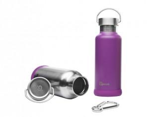gourde isotherme inox violette