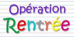Opération Rentrée 2016-2017