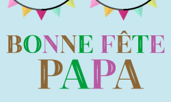 Promo fête des pères !