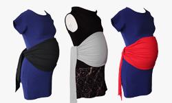 Nouveauté : le bandeau de grossesse anti-ondes