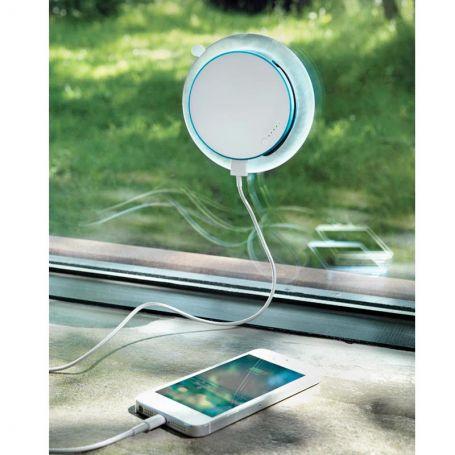 Chargeur solaire ventouse