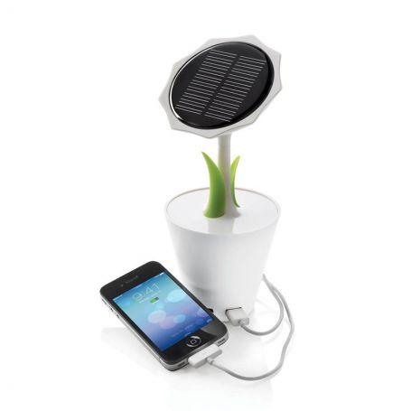 Chargeur solaire fleur 2500mAh