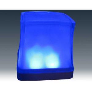 Cube glaçon LED avec télécommande
