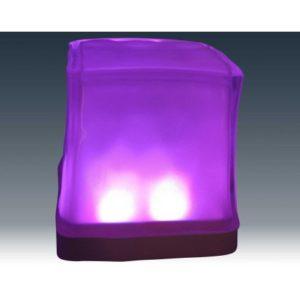 Cube glaçon LED
