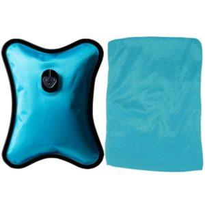 Bouillotte électrique grand modèle bleue