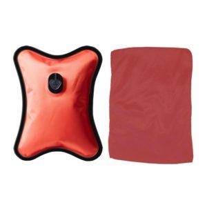 Bouillotte électrique grand modèle rouge
