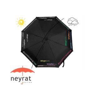 Parapluie pliant couleur changeante