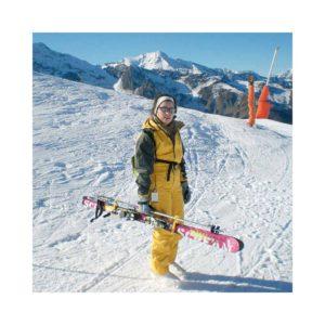 Mise en situation des porte-skis Klipski