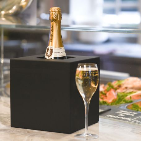 Seau à champagne réfrigéré