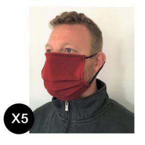 Masques adulte en tissu à monter