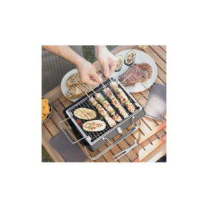 Cuisinez partout avec la barbecue à charbon nomade