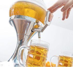 Distributeur de bière réfrigérant