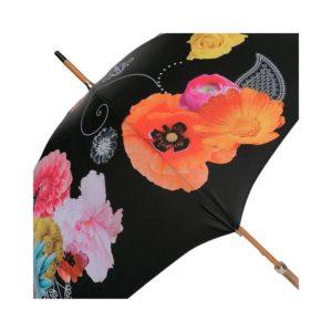 Parapluie long fleuri