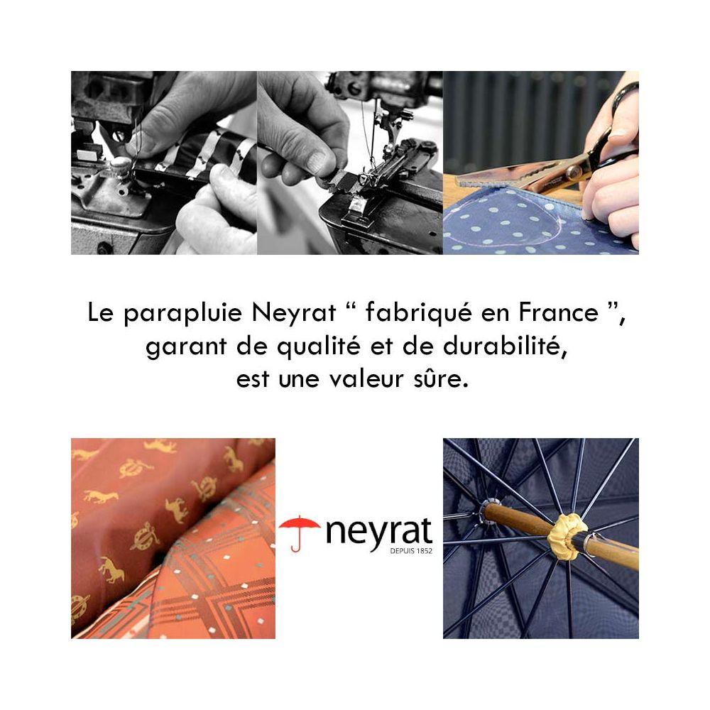 le parapluie Neyrat fabriqué en France, garant de qualité et de durabilité, est une valeur sûre.