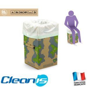 WC portatifs Cleanis