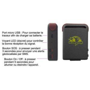 Tracker GPS TK102-2 Original